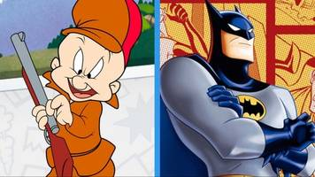 elmer fudd is hunting someone other than bugs bunny ... in gotham city