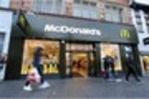 mcdonald's have finally launched their home delivery service -...