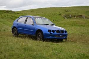 mark mcculloch wins solway car club's latest grass autotest at fell hill at crocketford