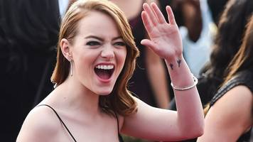 emma stone: male co-stars took pay cut so they were paid the same as me