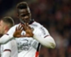 video: balotelli back in the goal groove with stunning free-kick for nice