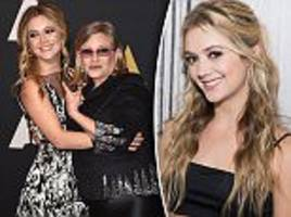 carrie fisher's daughter billie lourd will inherit fortune
