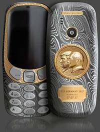 Want Something To Mark The Momentous Meeting Between TRUMP and PUTIN? This Nokia 3310 Will Have You Covered: