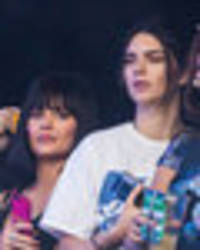 kendall and kylie jenner join bella hadid at wireless festival