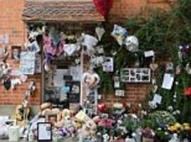 george michael oxfordshire home transformed into shrine