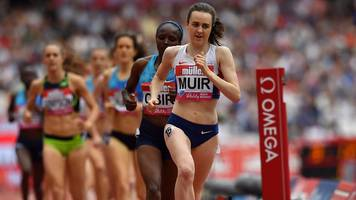 2017 anniversary games: laura muir second in mile with personal best