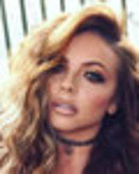 jesy nelson serves up cleavage and abs in sultry bra top reveal