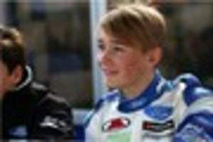 teen racing driver billy monger back behind the wheel despite...