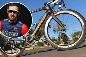 bikes and equipment worth more than £40,000 have been stolen from bradley wiggins' cycling team