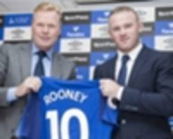 koeman expects rooney to bring 'ambition' to everton