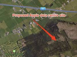 apple is planning to build another data centre in denmark as courts hold up its irish server farm (aapl)