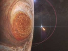 nasa's $1.1 billion spacecraft is about to fly over jupiter's great red spot – here's what makes jupiter's enormous storms unique