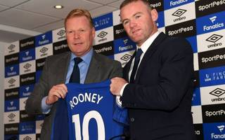 everton boss koeman reveals where he plans to play rooney