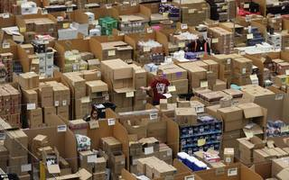 for every £5 spent online, £2 of it now goes through amazon