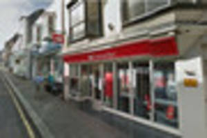 bank santander to axe helston branch in cornwall before the end...