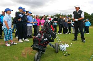 north ayrshire kids can gain golf tips from open champion at scottish open junior event