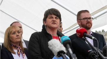 dial down the rhetoric: arlene foster issues message to those engaged in 'campaign of demonisation' against loyalist bonfire builders