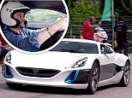 richard hammond speeds off moments before his crash