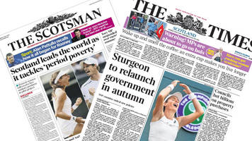 scotland's papers: fm plans 'radical new policies'