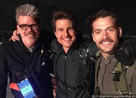 'mission: impossible 6' new set photo features the team together