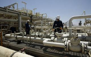 oil prices jump as goldman sachs calls on opec to 'shock and awe'