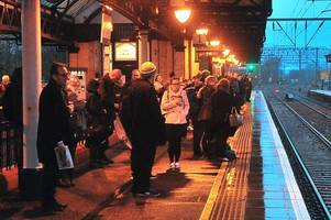 less than half of dumbarton and alexandria trains arrive on time