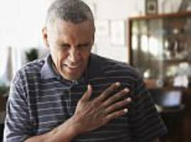 blacks are more likely to die from a heart attack
