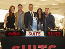 meghan markle joins her suits co-stars