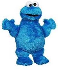 cookie monster was stuffed with cocaine, cops say