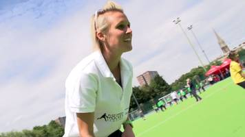 alex danson: olympic gold medallist's hockey academy targets 10,000 children