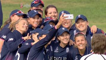 women's cricket world cup: england qualify for semi-finals