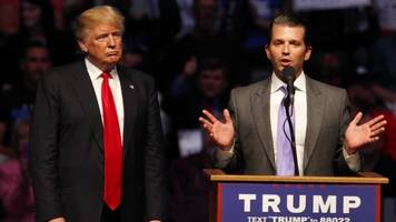 dc reacts to donald trump jr.'s russia emails