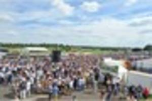 leicester racecourse's ladies day proves a massive success - with...
