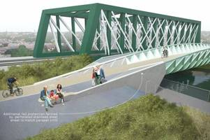 new £5.5million cycle bridge over river cam could be completed in 2018