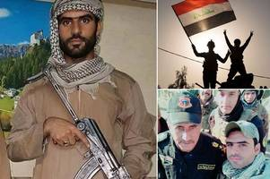 the lion of mosul: courage of young soldier going undercover as isis fanatic to shoot dead six fighters behind enemy lines