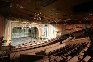derelict art deco theatre where beatles, rolling stones and many more played is saved by national lottery