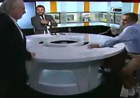 watch: islamist leader, former syrian mp get into brawl over isis on lebanese television