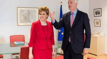 Top EU negotiator meets with Scottish and Welsh reps, but Northern Ireland is left out