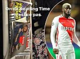 tiemoue bakayoko takes eurostar ahead of chelsea medical