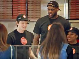the pizza chain backed by lebron james could be close to nabbing a $100 million valuation