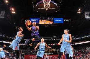 griner dunks, pours in 28 points help mercury drop dream
