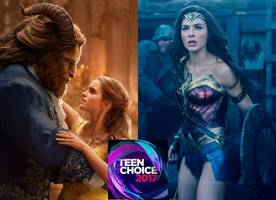 teen choice awards 2017: 'beauty and the beast', 'wonder woman' lead second wave of movie nominees