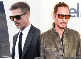 brad pitt is horrified after pal chris cornell's suicide pics were released