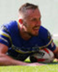 wigan 10 warrington 16: ben currie ends injury nightmare after game-winning try