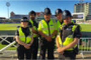 police encourage cricket fans to 'say hello' ahead of south...