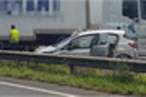 Crash on the A38 causing tailbacks for Plymouth-bound traffic