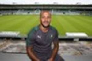 lionel ainsworth: it's a dream to wear the plymouth argyle shirt,...