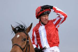 welcome back frankie: legendary frankie dettori makes his comeback at newmarket