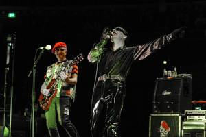 kinda mystery man: catching up with the damned