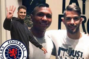 watch rangers star daniel candeias chat about his new life at ibrox